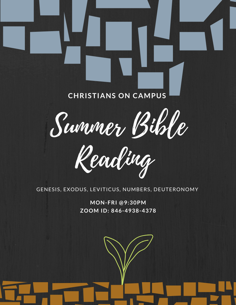 Summer Bible Reading Series
